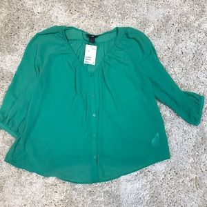 H&M blouse size 8 NWT
